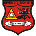 River Division 511  Decal