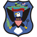 River Division 553 Decal