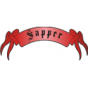 Sapper Scroll Tab Decal