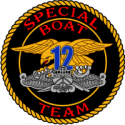 Naval Special Warfare Special Boat Team 12 Decal
