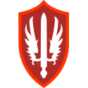 SCARWAF Special Category Army w/Air Force Decal