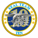 SEAL TEAM 10 Decal