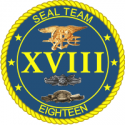 SEAL TEAM 18 Decal