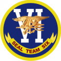 SEAL TEAM 6 Decal