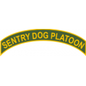 Sentry Dog Platoon Tab Decal