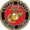 Marine Corps ALUMINUM LOGO