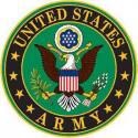 Army ALUMINUM LOGO