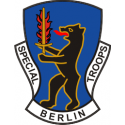 Special Troops Berlin Brigade (Left)  Decal