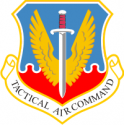 Tactical Air Command  Decal