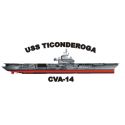 USS Ticonderoga (CVA-14), Decal