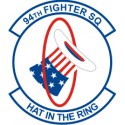 94th Fighter Squadron Decal