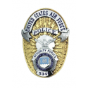 USAF Security Police Badge Decal