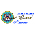 U.S. Coast Guard Alumni  Decal
