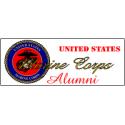 U.S. Marine Corps Alumni Decal