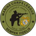 USMC League Rifle Team Decal