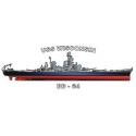 USS New Jersey (BB-62), Decal