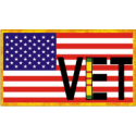 Veteran Flag Decal