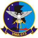 Marine Attack Squadron 513  Decal