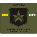Vietnam Security Police Association (Cammie) Decal