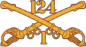 1-124 Cavalry Decal
