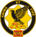 1-1 Cavalry Regiment Decal