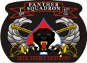 1-61 Cavalry Panther Squadron Sabres Decal