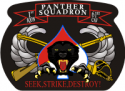 1-61 Cavalry Panther Squadron Rifle & Sabre Decal