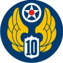 10th Air Force Decal