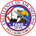 125th Fighter Wing FANG - 2 Decal