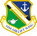 143rd Airlift Wing Decal