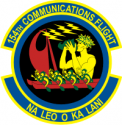 154th Communications Flight Decal
