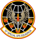 15th Special Ops Squadron Decal