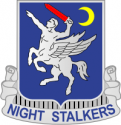 160th SOAR - Night Stalkers Decal