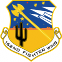 162nd Fighter Wing -2   Decal