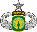 16th MP Brigade - Senior Jump Wings Decal