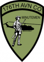 176th Aviation Company Decal