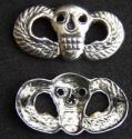Vietnam SF MACV SOG Skull Wings Badge Sterling-2