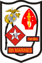 1st Bn 6th Marine Regiment Decal