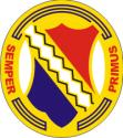 1st Infantry Regiment Decal