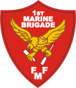 1st Marine Brigade Decal