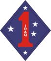 1st Marine Division Iraq Decal