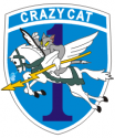 1st RR Co. Crazy Cats Decal