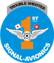 1st Signal Det - Troubleshooters Decal