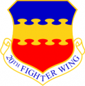 20th Fighter Wing Decal