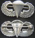 WWII Paratrooper Sterling Badge Simon Brothers