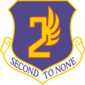 2nd Air Force Decal