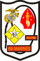 2nd Bn 6th Marine Regiment Decal