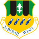 2nd Bomb Wing Decal