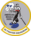 2nd Fighter SQ Decal