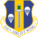 314th Air Wing Decal